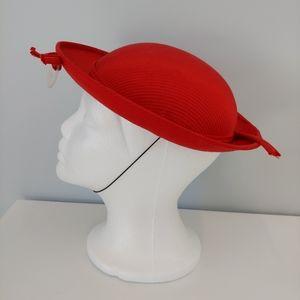 VINTAGE MR. HERBERT Girl's red Hat